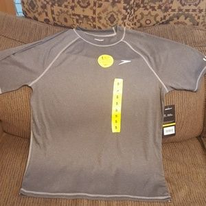NWT UV Speedo swim tee